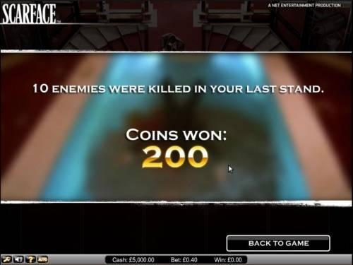 Scarface Big Bonus Slots Scarface slot game bonus round stats and payout