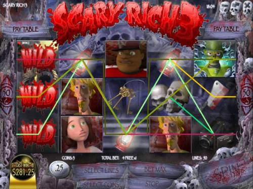 Scary Rich 3 review on Big Bonus Slots