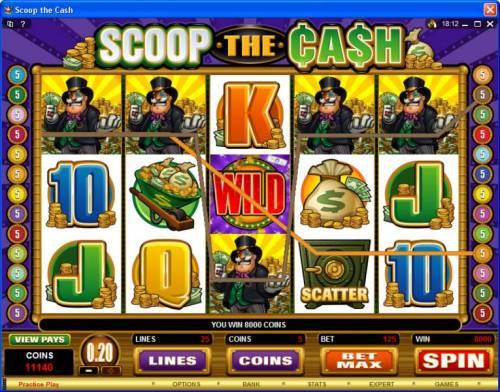 Scoop the Cash Big Bonus Slots