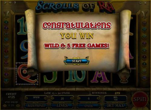 Scrolls of Ra review on Big Bonus Slots