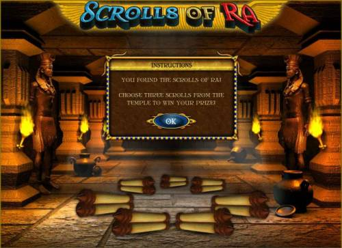 Scrolls of Ra review on Big Bonus Slots