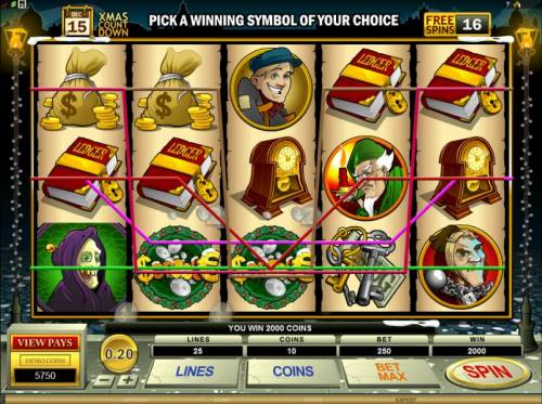 Scrooge review on Big Bonus Slots