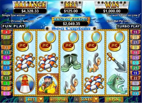 Sea Captain review on Big Bonus Slots