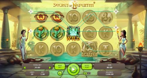 Secret of Nefertiti review on Big Bonus Slots