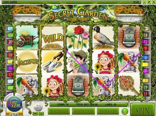 Secret Garden review on Big Bonus Slots
