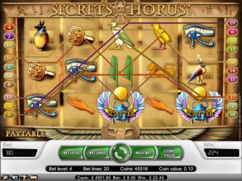 Secret Of Horus review on Big Bonus Slots
