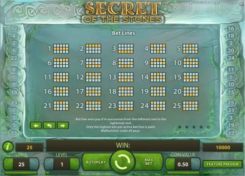 Secret of the Stones review on Big Bonus Slots