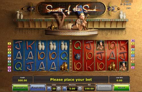 Secrets of the Sand review on Big Bonus Slots