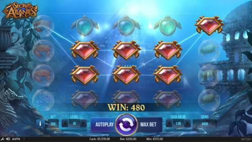 Secrets of Atlantis review on Big Bonus Slots