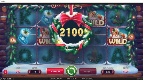 Secrets of Christmas review on Big Bonus Slots