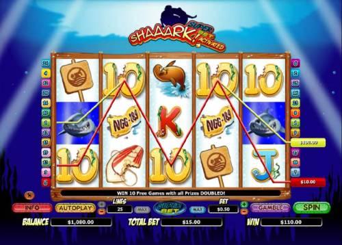 Shaaark! review on Big Bonus Slots
