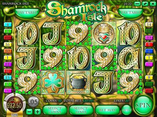 Shamrock Isle review on Big Bonus Slots