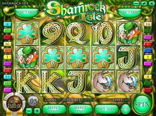 Shamrock Isle review on Big Bonus Slots
