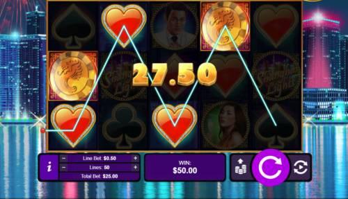 Shanghai Lights Big Bonus Slots Free Spins Game Board