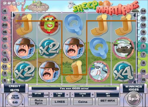 Sheep and Martians review on Big Bonus Slots