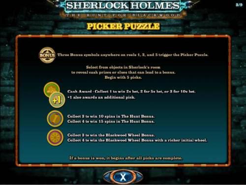 Sherlock Holmes The Hunt for Blackwood review on Big Bonus Slots