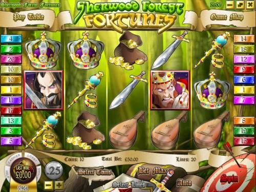 Sherwood Forest Fortunes review on Big Bonus Slots