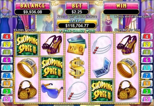 Shopping Spree II review on Big Bonus Slots