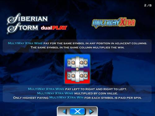 Siberian Storm Dual Play review on Big Bonus Slots