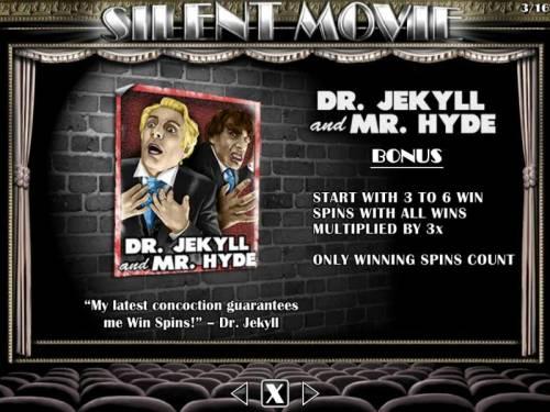 Silent Movie review on Big Bonus Slots