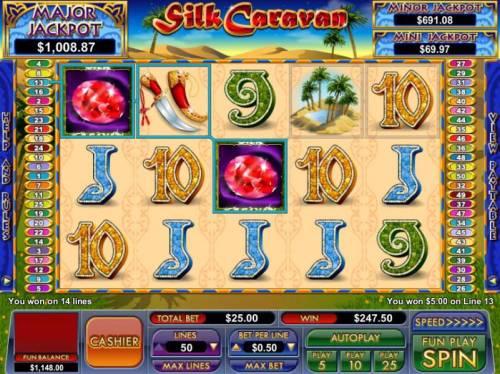 Silk Caravan review on Big Bonus Slots