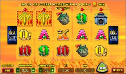 Silk Road review on Big Bonus Slots