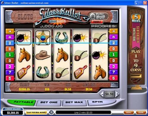 Silver Bullet review on Big Bonus Slots