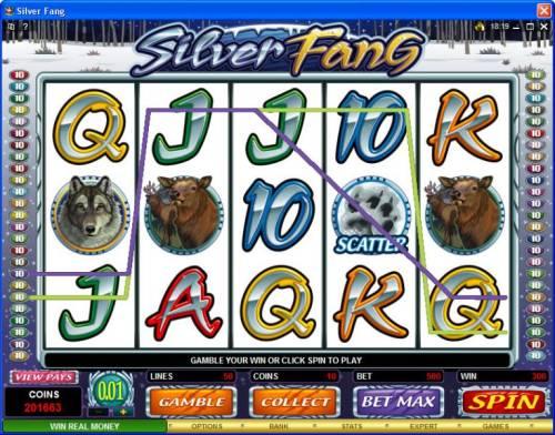Silver Fang review on Big Bonus Slots