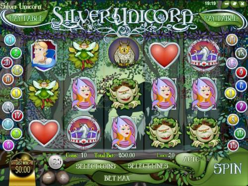 Silver Unicorn review on Big Bonus Slots