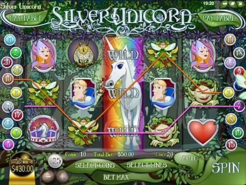 Silver Unicorn review on Big Bonus Slots