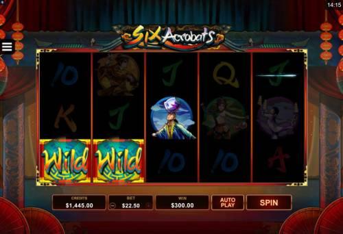 Six Acrobats review on Big Bonus Slots