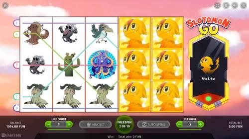 Slotomon Go Big Bonus Slots Free Spins Game Board