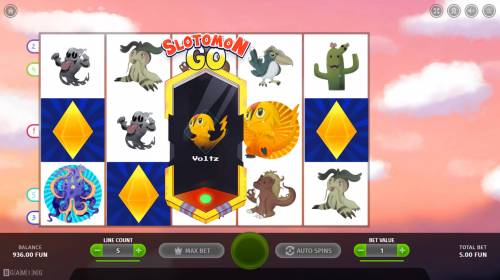 Slotomon Go Big Bonus Slots Special symbol selected
