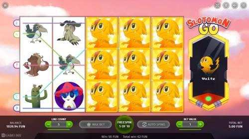 Slotomon Go Big Bonus Slots Multiple winning paylines