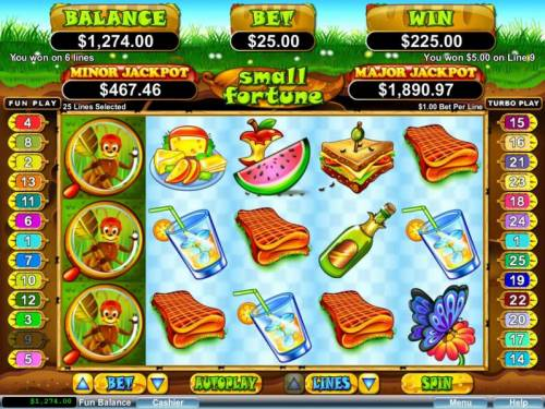 Small Fortune review on Big Bonus Slots