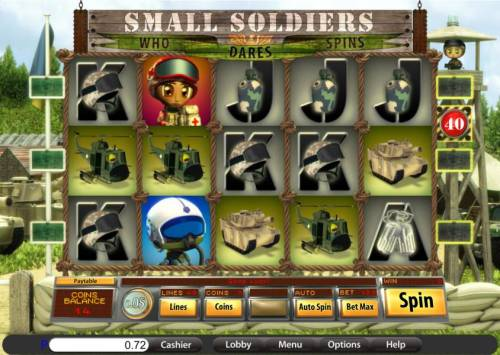 Small Soldiers review on Big Bonus Slots