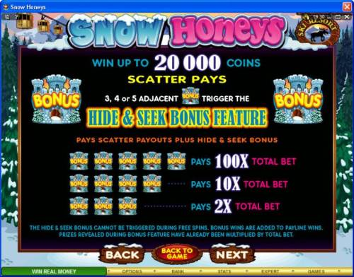 Snow Honeys review on Big Bonus Slots