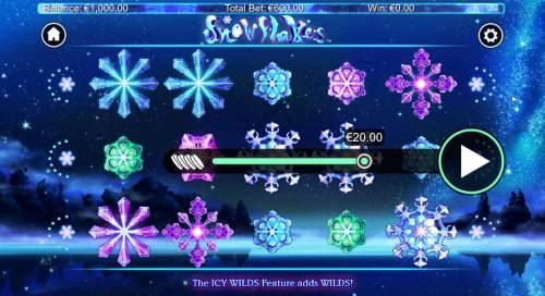Snowflakes review on Big Bonus Slots