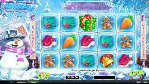 Snowmania review on Big Bonus Slots