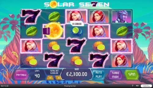 Solar Seven review on Big Bonus Slots