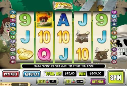 Solomons Mines review on Big Bonus Slots