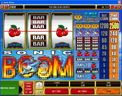 Sonic Boom review on Big Bonus Slots