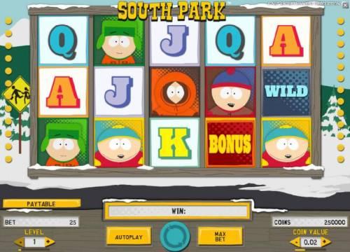 South Park review on Big Bonus Slots