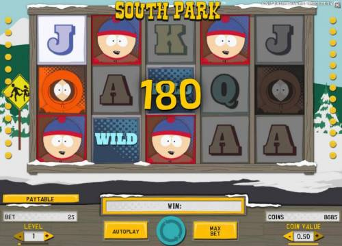 South Park review on Big Bonus Slots