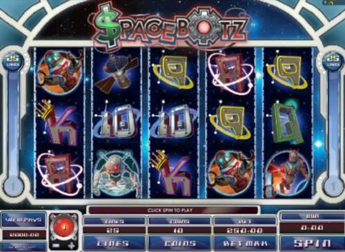 Spacebotz review on Big Bonus Slots
