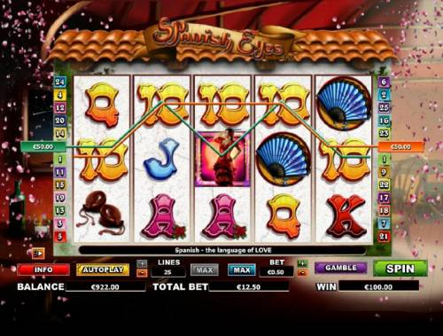 Spanish Eyes review on Big Bonus Slots