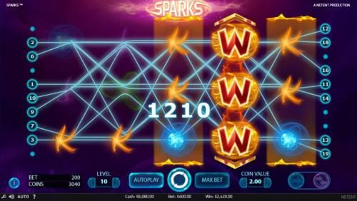 Sparks review on Big Bonus Slots