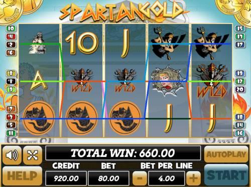 Spartan Gold review on Big Bonus Slots