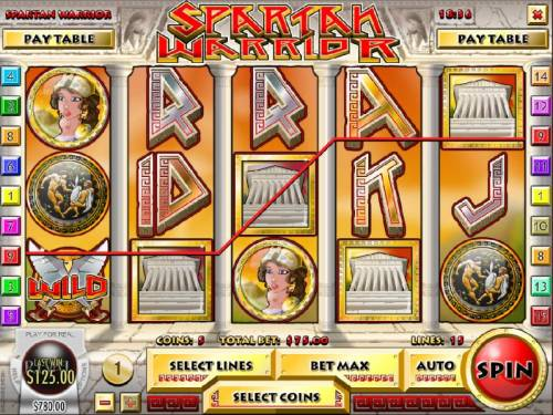 Spartan Warrior review on Big Bonus Slots