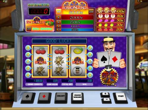 Spin Magic review on Big Bonus Slots